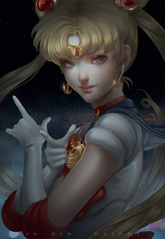 Sailor Moon by RinRinDaishi