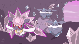 Diancie by LaahGata