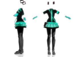 Love is war Miku Outfit by RuchiiP
