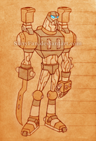 the Robot (old version) - Omniverse style by SunyFan