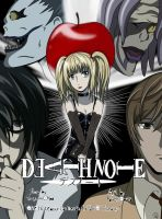 Death Note Cover Fanart by xXKyokoKittycatXx