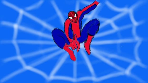 Spiderman by crazykidsteveo