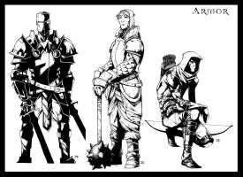 Armor Inks by JeffStokely
