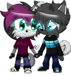 Luna and Jep Chibi by SkullzArt