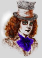 Mad Hatter by singlebeate