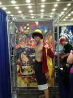 Luffy from One Piece Film Z version (Otakon 2014) by OORR
