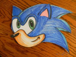 Sonic the Hedgehog Card by Nach4ever