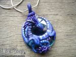 Frost Dragon Pendant by Hidden-Treasury