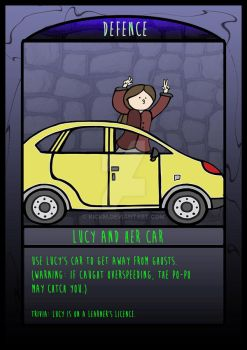 The Frighteners Card 2 - Lucy by kickm