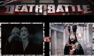 Lord Voldemort vs. Lo Pan by JasonPictures