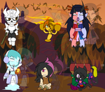 Assorted Chibis - Halloween OC Party by Dragon-FangX