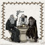 Donation: The Hobbit: Wizards by wolfanita