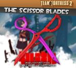 Kill la Kill Scissor Blade Mod for TF2 Release by Ryu-Gi