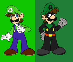 Mr.L and Luigi by MariobrosYaoiFan12