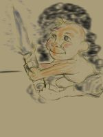 baby jedi skecth by danny2069