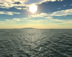 Island by sergin3d2d