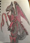 Athru Tyrannus (If I made Xenotyrannus) by Zimzilla99