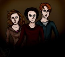 DH - The Golden Trio by Until-The-Dark