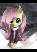 Fluttershy: Happy new year by Forgun