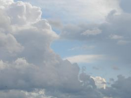 Wild Blue Yonder Sky Clouds 24 by FantasyStock