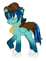 MLP my OC Izo by DemonChan22