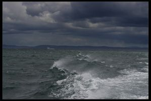 Stormy Day near Ireland by OrionGrp