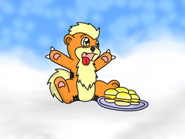 Thar Be Cheezburgers In Heaven by Charpuppy