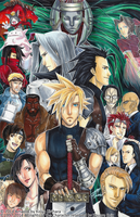 Final Fantasy VII by Kirihara-Kiriya31