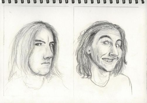 Expressions Sketches 1 by joabo42