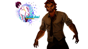 Bigby [the wolf among us] render by baka-to-draw