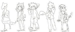 PKMN-Crossing: Resident Sketches by Millenium-Lint