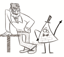 Gravity Falls sketches by The-Ravens-Of-Moraea