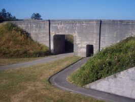 Fort Casey: Entrance Tunnel by Photos-By-Michelle