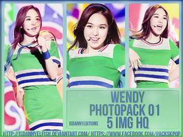 Wendy (RED VELVET) - PHOTOPACK#01 by JeffvinyTwilight