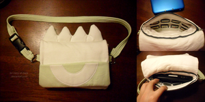 Pokemon-Themed 3DS XL Carrying Case by Sir-Herp
