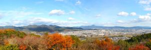 Kyoto Panorama by YuffieV