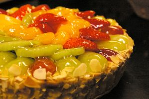 Fruit Flan by chiziwhiteafrican