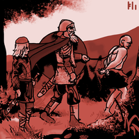 Beowulf going to his last battle by PeKj