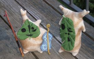 Korok Plushies by LadyJamie