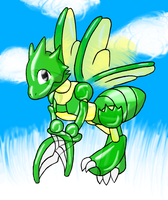 Request:Scyther by Balloon-Quilava