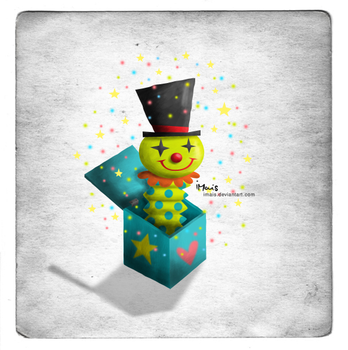 Clown Jack in the Box by iMais