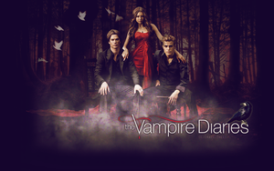 The Vampire Diaries Trio by Crazy-Sweet