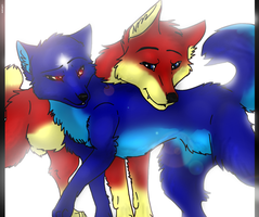 Shenzie and Sirius  AT by Hicane
