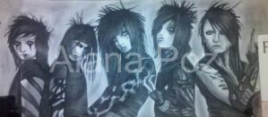 Black Veil Brides by darkenedhearte