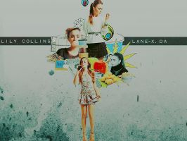Jul - Lily Collins by Lane-X