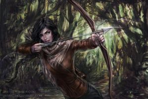 Katniss by jasric