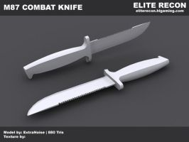 Combat Knife WIP by ExtraNoise