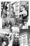 Harley Quinn  Issue # 2 Page 8 Inks with Greytones by StephaneRoux