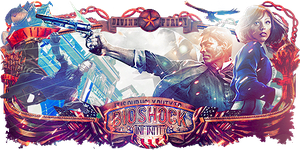 Bioshock Infinite Sign - 2 by Panico747