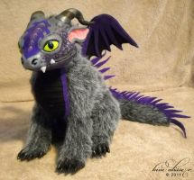 Purple and Silver Dragon by kimrhodes